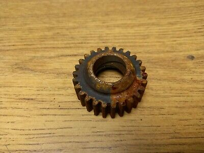 Nos Triumph Rear Wheel With Dunlop Rim Disc & Sprocket T140 Bonneville 37-7019