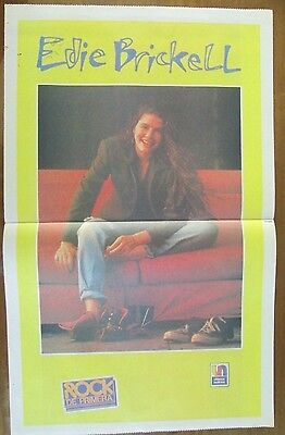 Edie Brickell Musicians Celebrity Poster 1990 From A Magazine In Spanish