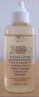 SuperSlick Valve Oil 2000 2 Ounce Bottle Almost Full