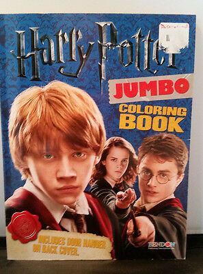 Harry Potter 64 page Jumbo Coloring Book