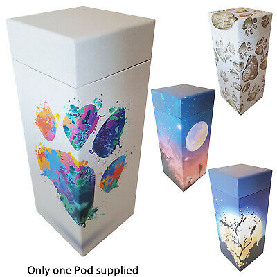 NEW! ScatterPod - Pet Scattering & Eco Friendly Cremation Urn - Various