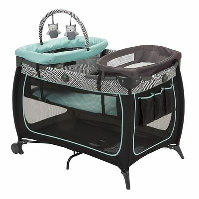 Pack n Play Playard Newborn Baby Bassinet Changing Table Changer Cuddle Portable