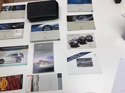 Mercedes Benz SL Class 2005 Owners Manual Books /NAVIGATION Case /Free Shipping