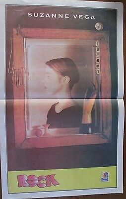 Suzanne Vega Musicians Celebrity Poster 1990 From A Magazine In Spanish