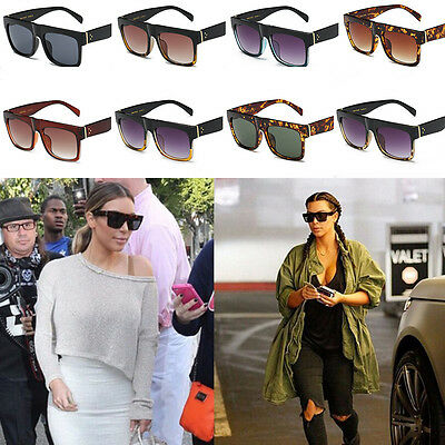 Fashion Men Women Retro Big Frame Oversized Sunglasses Outdoor Eyewear Glasses