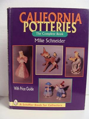 California Potteries Complete  Hardcover Collector Book 1995 Schiffer