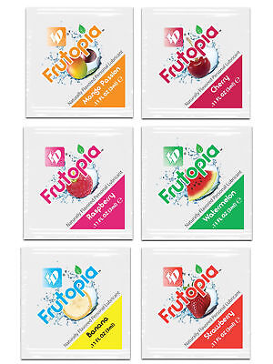 12 x ID Frutopia Juicy Fruit Flavoured 3ml Lube Sachets