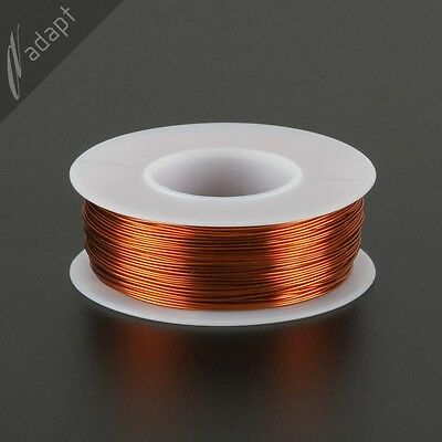 Magnet Wire, Enameled Copper, Natural, 24 AWG (gauge), 200C, ~1/4 lb, 200 ft
