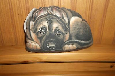 German Shepherd Pupperweight - Papperweight / Door Stop