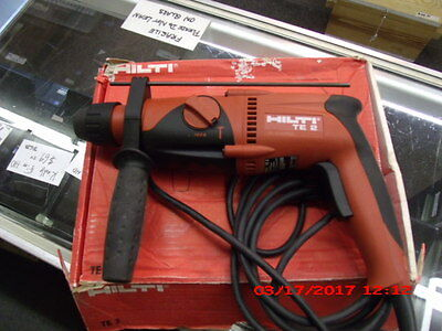 Hilti  TE-2   Corded   Rotary  Hammer  Drill    Very  Good  Condition