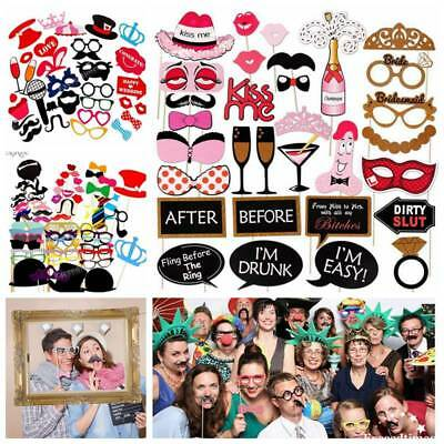 Large Picture Frame Photo Booth Props On A Stick Mask Wedding Party Funny Selfie