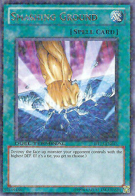 YuGiOh Smashing Ground - DT03-EN043 - Rare Parallel Rare - Duel Terminal Near Mi