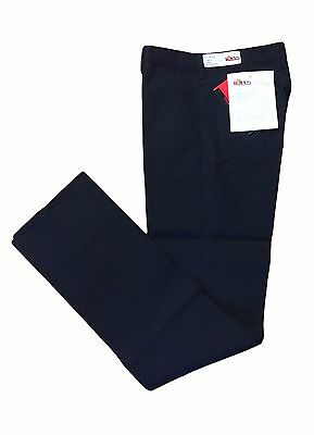 Nomex IIIA Navy Pants Flame Resistant FR Work Uniform Men's Hook Closure PA68