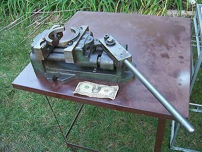 """BOYD MACHINE MILLING VISE Used   7"""" Jaws Lathe Mill Machinist"""
