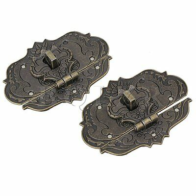 Old Style Chinese Fire Totem lock Buckle Set of 2