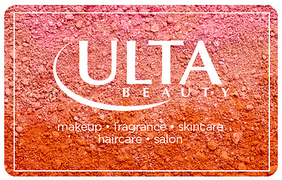 Get a $100 Ulta Beauty Gift Card for only $90 - Super Fast Email delivery
