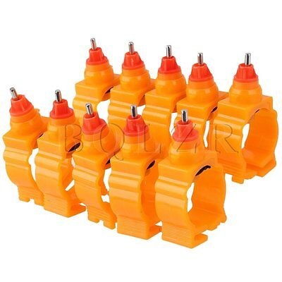 Chicken Nipple Water Drinker Set of 10
