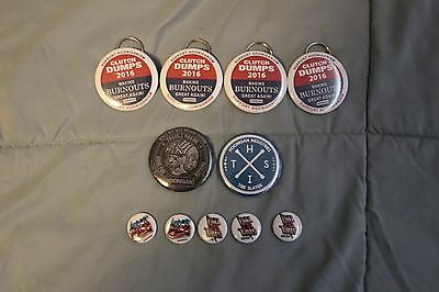 Hoonigan Pins and Bottle Openers