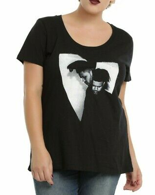 59b901e1224 Torrid Plus Size THE WEEKND PHOTO Girls Womens T-Shirt NWT Licensed    Official