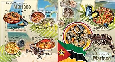 MOZ13310ab Mozambique 2013 Mozambican Kitchen MNH SET
