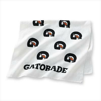 "LARGE GATORADE ""G"" WHITE SPORTS TOWEL Workout Sweat Gym Bench Sideline"