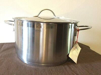 Rosle Stainless Steel pot, 6.0 L/6.3 Qt, NWT