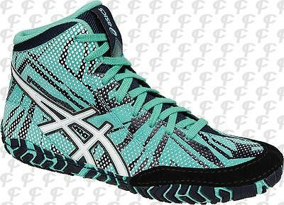 NEW! ASICS Aggressor 3 LE Geo Mens Wrestling Shoes Limited Edition J602Y-3801