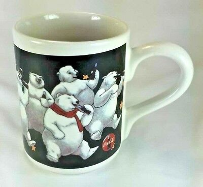 Coca-Cola COKE Mug Cup Polar Bear Party 1999 Gibson