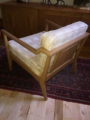 Mid Century Lounge Chair Chinese Chippendale Hollywood Regency Arm Club Cube
