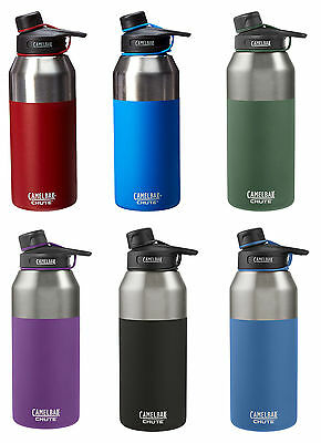 CamelBak Chute Vacuum-Insulated Stainless Water Bottle, 2 Sizes, 10 Colors
