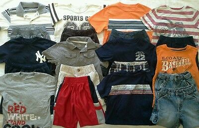 Boys 4T/4 4/5 spring summer clothes outfits shirts shorts clothing lot!