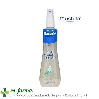 Mustela Agua De Cologne Without Alcohol 200 Ml