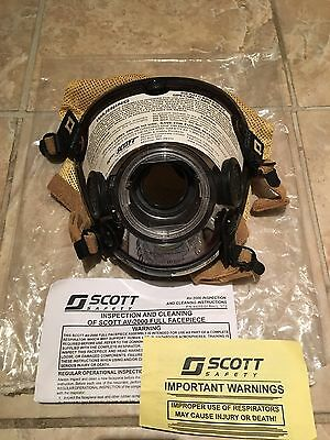 Scott AV-2000 AIR MASK Respirator SCBA Firefighter Size X-LARGE - NEW / UNUSED