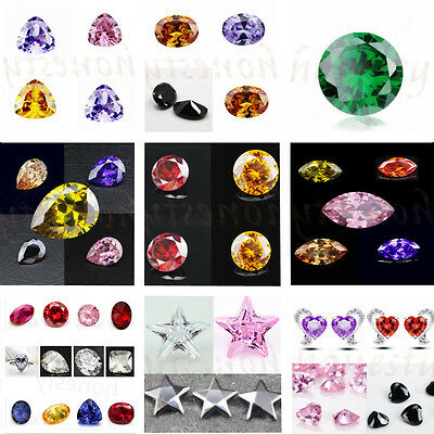 Various Round Oval Cut Shaped Stunning Lustrous Sapphire Gemstone Jewelry
