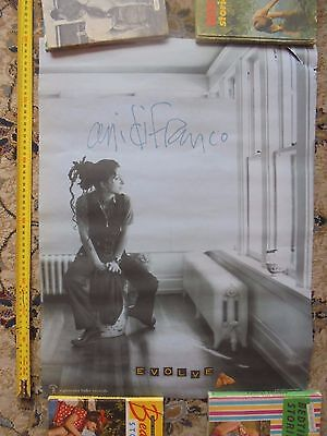 ANI DIFRANCO_evolve_used promo poster_ships from AUS!_xx72_sh12