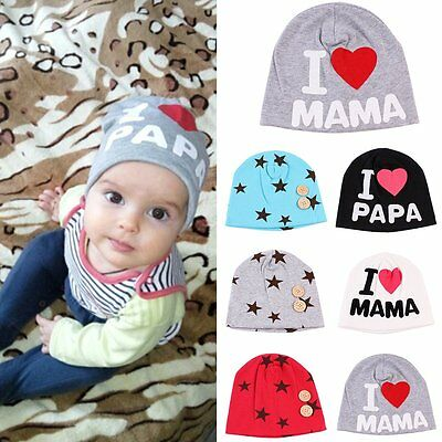 Newborn Baby Infant Girl Toddler Comfy Star Hospital Warm Cotton Cap Beanie Hat
