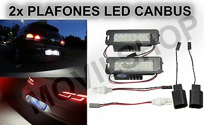PLAFON LED MATRICULA Seat Altea XL (Sólo XL) 2007-2012