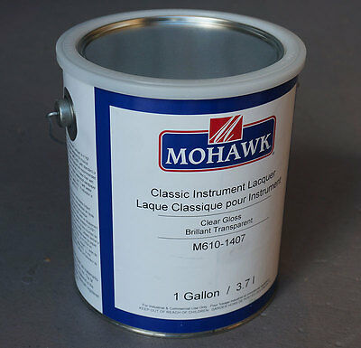 Mohawk Classic Instrument Lacquer for Guitars - 1 Gallon (3.79L)