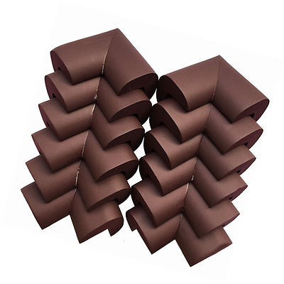 AWESOME 12 PCS Cushiony Table Furniture Childproofing Corner Guards...
