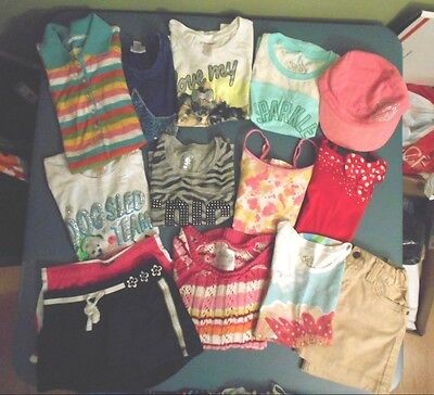 Girls Clothing Sz 6 7 8  Justice Gap Aeropostale Limited Too Lot
