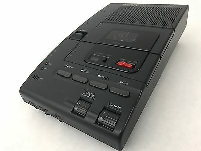 Sony Microcassette Transcriber M-2000 w/ Power Adapter. *Tested and working*