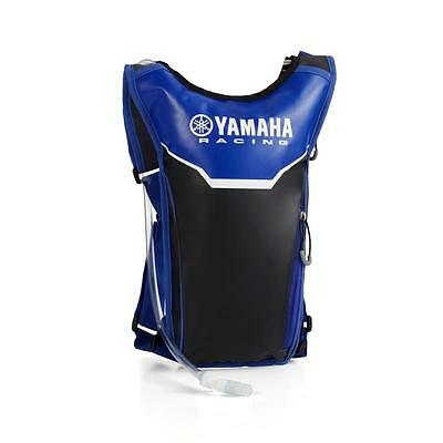Official Yamaha Racing Black & Blue Water / Drinks Bag Backpack