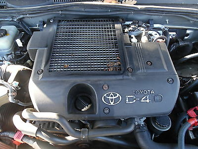 TOYOTA LAND CRUISER 3 0 D4D Diesel 2003 - 2009 Engine Supplied and Fitted  1KD