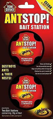 Home Defence Ant Stop Bait Station 2 Bait Stations containing 10g of Bait Nest