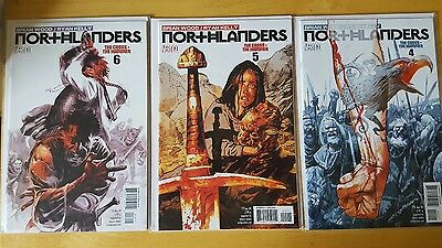 northlanders the cross and hammer issue # 4 / 5 / 6