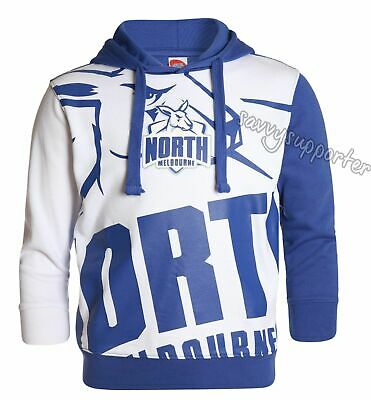 North Melbourne Kangaroos 2017 AFL Mens Pullover Hood Hoody 'Select Size' S-3XL