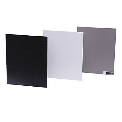 Movo Photo Color/White Balance Card Set for Digital Photography (Full-sized, 8 X