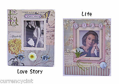 Scrapbook style Handcrafted Embellished Themed Photo Album, 1pc.