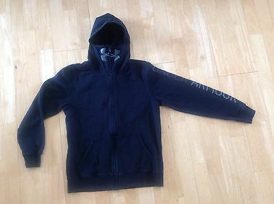 Under Armour Youth Black Loose Full Zip Hoodie Jacket , Sz Youth Large