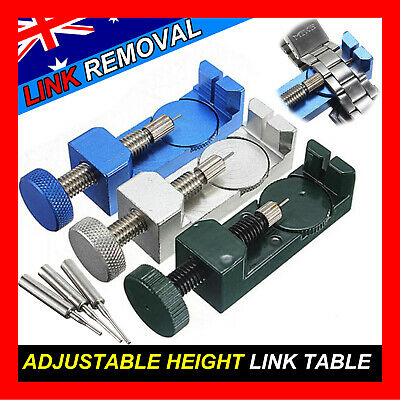 Watch Bracelet Link Band Strap Pin Remover Adjust Premium Tool Repair Kit ~BOXED